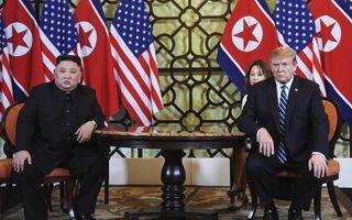 De Amerikaanse president Donald Trump en de Noord-Koreaanse leider Kim Jong-un slaagden er woensdag en donderdag tijdens een top in Vietnam niet in een akkoord te bereiken over verdere denuclearisering van Noord-Korea, in ruil voor het versoepelen van Ame
