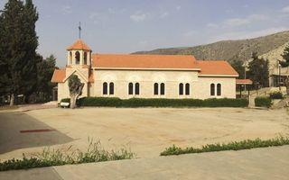 De kerk op de campus in Anjar. beeld RD