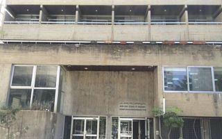 Het pand van de NEST in Beiroet. beeld RD