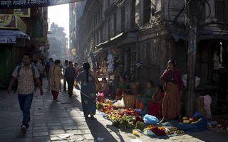 Straatbeeld in Bourj Hammoud. beeld Emilie Houwat