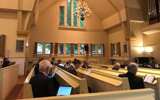 CGK-synode in Nunspeet. beeld RD