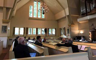 CGK-synode, dinsdag in Nunspeet. beeld RD