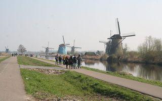 Molens in Kinderdijk. beeld RD, Henk Visscher
