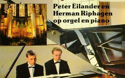 Afbeelding van de cd die Peter Eilander en Herman Riphagen (r.) samen maakten voor familieblad Terdege. beeld RD