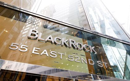 Het kantoor van BlackRock in New York. beeld EPA, Justin Lane