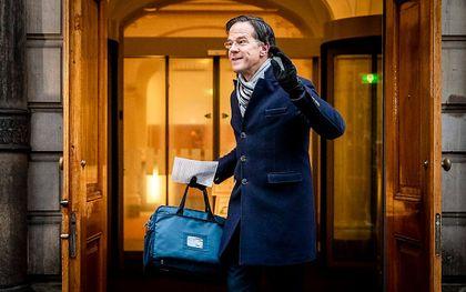 Premier Rutte. beeld ANP, Remko de Waal