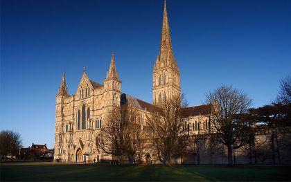 De kathedraal van Salisbury. beeld Wikimedia