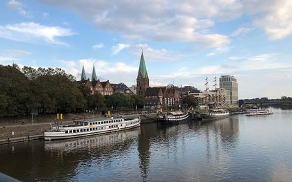 Sint-Martinikerk in Bremen. beeld RD