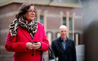 Demissionair minister Tamara van Ark voor Medische Zorg. beeld ANP, Bart Maat