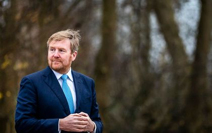 Koning Willem-Alexander. beeld ANP, Remko de Waal