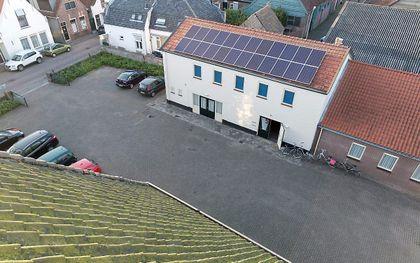 'Groene' kerk in Den Bommel. beeld Sjaak Verboom