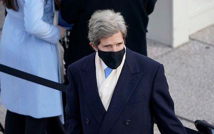 De Amerikaanse klimaatgezant John Kerry. beeld EPA, Patrick Semansky