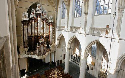Het Kamorgel in de Grote Kerk in Dordrecht. beeld RD, Anton Dommerholt