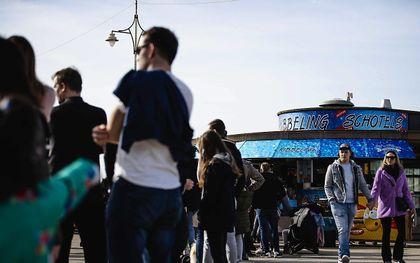 Scheveningen. beeld ANP, Sem van der Wal