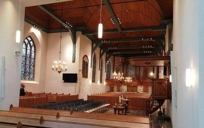 Hervormde kerk in Meerkerk. beeld A. J. Post