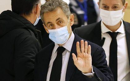 Nicolas Sarkozy. beeld EPA, Youan Valat