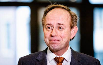 SGP-lijsttrekker Kees van der Staaij. beeld ANP, Sem van der Wal