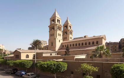 Kerk in Cairo. beeld Wikimedia/Roland Unger