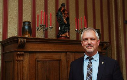 Hugo Bos, directeur van Stichting Civitas Christiana. beeld RD