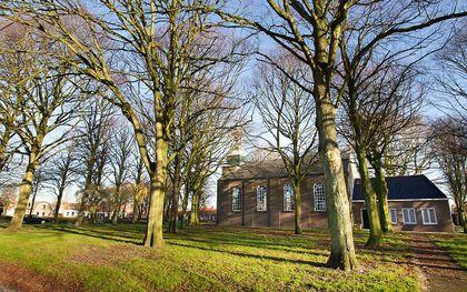 De kerkdiensten van de hervormde gemeente De Bron in Borssele worden gehouden in de plaatselijke Catharinakerk. beeld RD, Anton Dommerholt