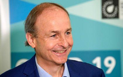 Premier Martin van Ierland. beeld AFP, Daragh McSweeney