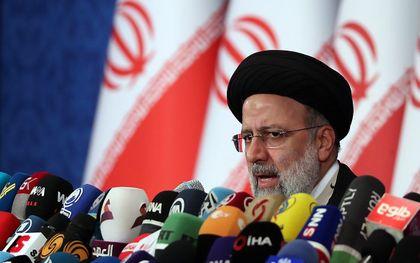 De nieuwe president van Iran, Ebrahim Raisi. beeld EPA, Abedin Taherkenareh