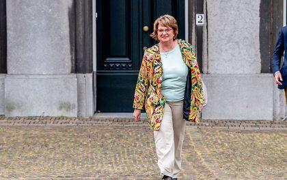 Informateur Mariëtte Hamer. beeld ANP, Robin Utrecht