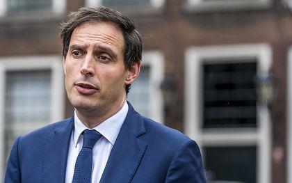 CDA-leider Hoekstra. beeld ANP, Lex van Lieshout