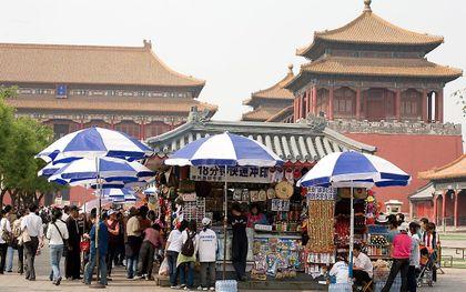 China - het beroemde Plein van de Hemelse Vrede. beeld ANP, Ruud Taal