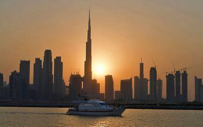Kust bij Dubai. beeld AFP, Karim Sahib
