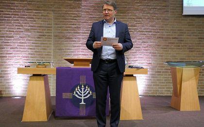 Dr. R. de Reuver. beeld RD