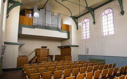 Het kerkgebouw van de hersteld hervormde gemeente te Zaltbommel. beeld RD, Anton Dommerholt