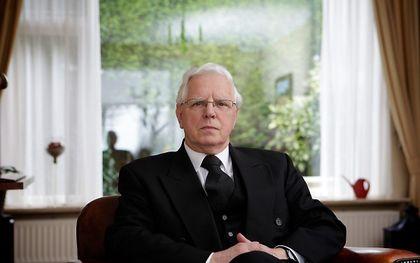 Ds. M. J. van Gelder (archiefbeeld uit 2009). beeld Sjaak Verboom
