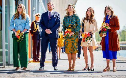 Afgelopen jaar vierde de koninklijke familie Koningsdag in Eindhoven. beeld ANP, Koen van Weel