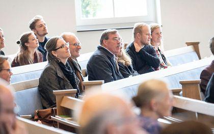 Zaterdag vond de landelijke evangelisatiedag van de Hersteld Hervormde Kerk plaats. beeld Niek Stam
