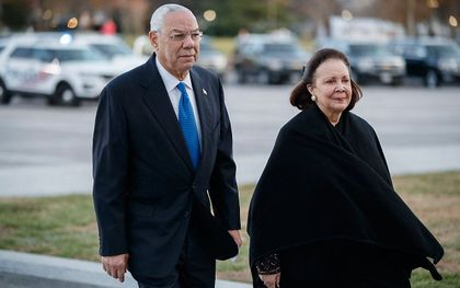 Colin Powell. beeld AFP, Shawn Thew