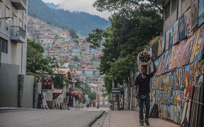Port-au-Prince. beeld AFP, Richard PIERRIN