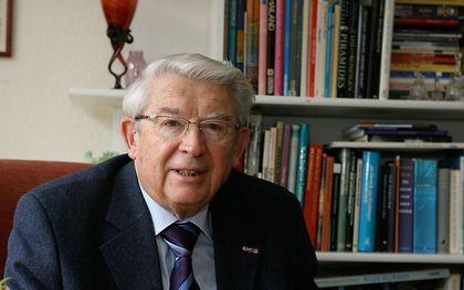 Dr. B. J. Wiegeraad. beeld RD, Anton Dommerholt