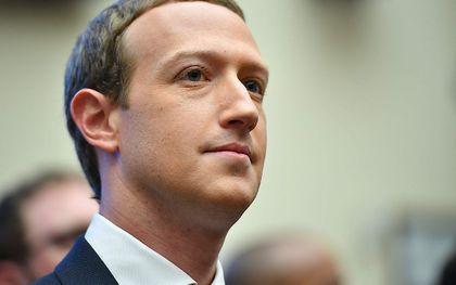 Facebook-baas Mark Zuckerberg. beeld AFP, Mandel Ngan