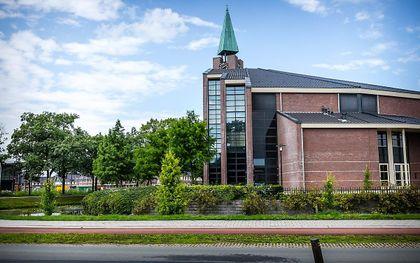 Kerkgebouw De Hoeksteen van de gereformeerde gemeente in Nederland te Barneveld. beeld ANP, Rob Engelaar