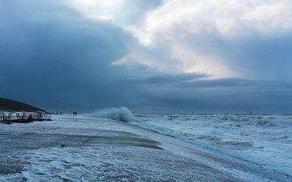 Zeespiegelstijging bedreigt Nederland. beeld iStock