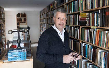 Boekhandelaar Pleun-Jan Heistek. beeld RD, Anton Dommerholt