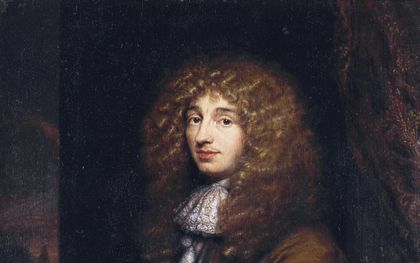 Schilderij van Christiaan Huygens door Caspar Netscher (1671). beeld Rijksmuseum Boerhaave, Leiden.