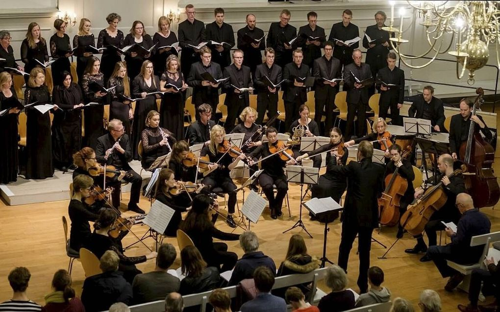 Ars Musica Concertkoor en Ars Musica Orkest. beeld Ars Musica, Jan Hordijk