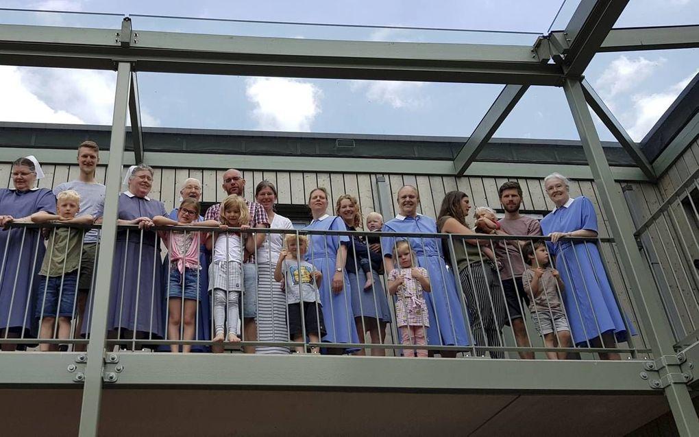Zeven zendingsdiaconessen en vier gezinnen vormen samen een diaconale leefgemeenschap in Amerongen. beeld Leefgemeenschap Bethanië