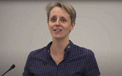 Kathleen Stock.beeld youtube/ Woman's Place UK