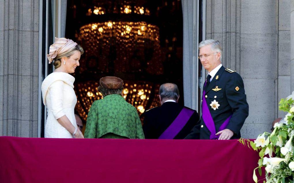 Koning Filip volgt zijn vader Albert op.beeld ANP, Robin Utrecht