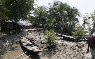 De kustlijn in de delta van Bangladesh komt steeds dichter bij de bewoonde wereld. beeld Tearfund
