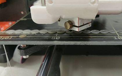 3D-printer in actie.beeld Kirsten Schimmel