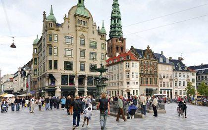 Straatbeeld van Kopenhagen (archieffoto).beeld Ad de Jong
